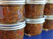 Spicy Quince and Apple Chutney